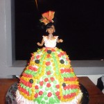 Creole cake baked and decorated by Lena James