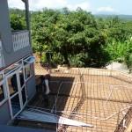 Classique's deck under construction