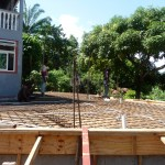 Extension of deck 2010